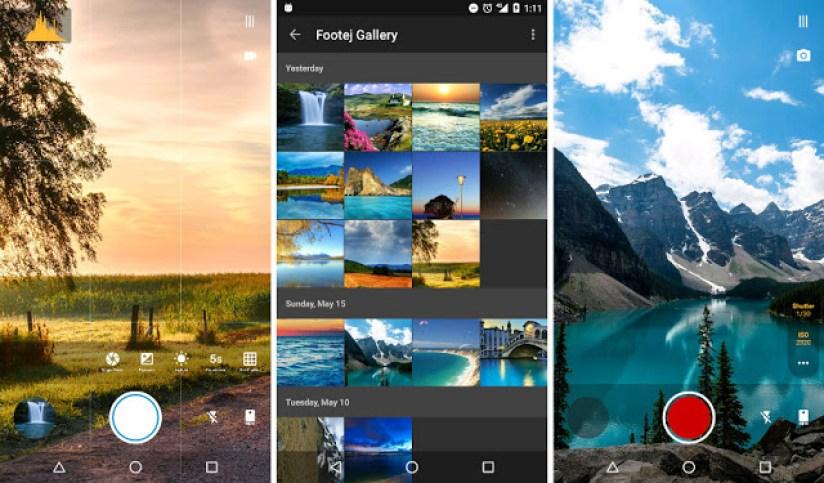 Footej camera Android app2 - Aprenda a melhorar a qualidade das fotos de smartphones Android