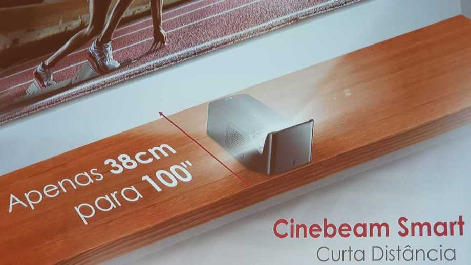 Cine Beam Smart TV PF1000UW, novo projetor de curta distância da LG chega ao Brasil 4