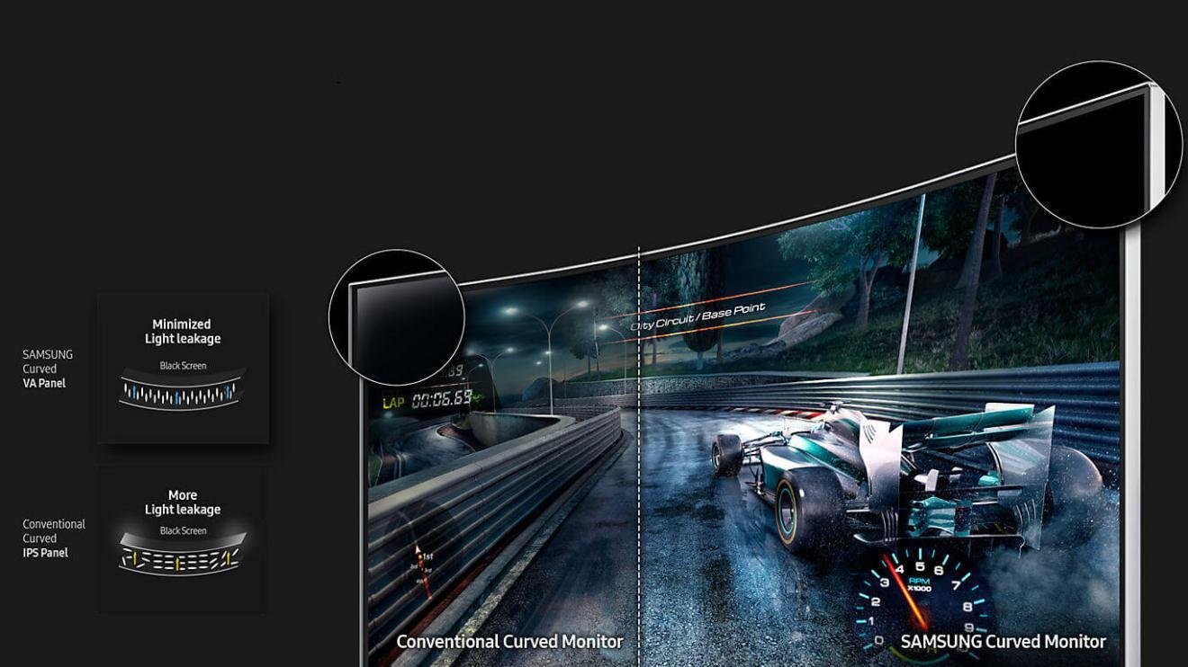 Review: Monitor Samsung 24CF390 e suas curvas sensuais 5