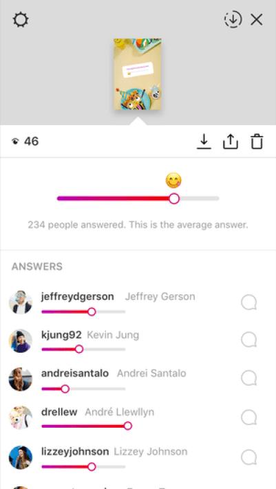 Novo adesivo do Instagram Stories permite que você saiba a opinião exata de seu público 8