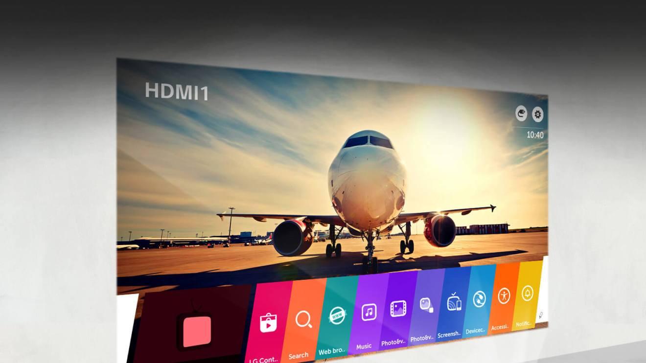 Cine Beam Smart TV PF1000UW, novo projetor de curta distância da LG chega ao Brasil 6