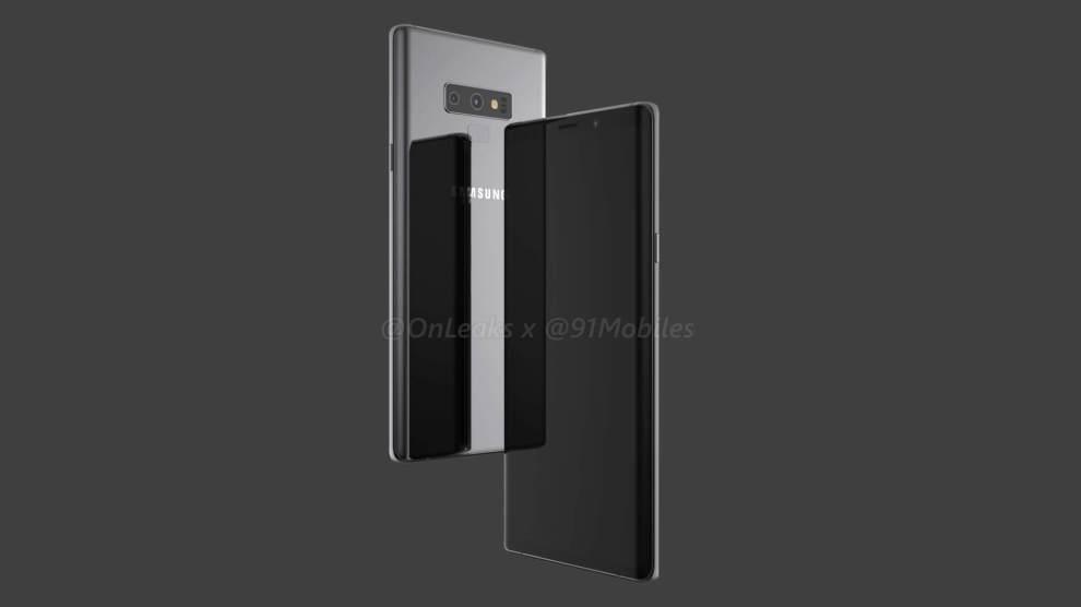 Galaxy Note 9: vazamento revela design do aparelho 3