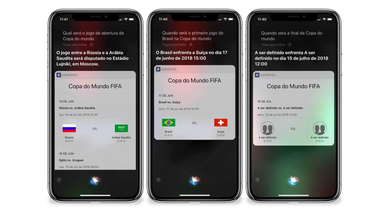 25 2 - Apple coloca a Siri no clima da Copa do Mundo com conteúdo especial