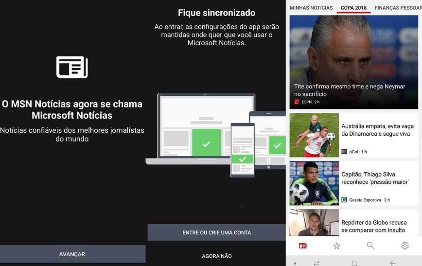 MSN Notícias passa a se chamar Microsoft Notícias e ganha um novo app 5