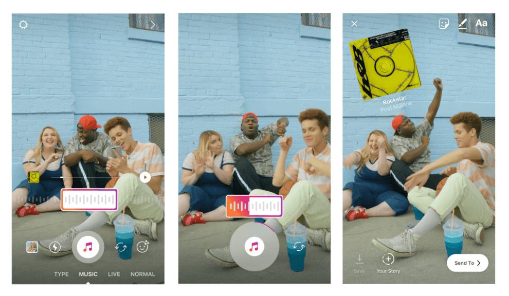 Instagram Stories terá trilha sonora 6