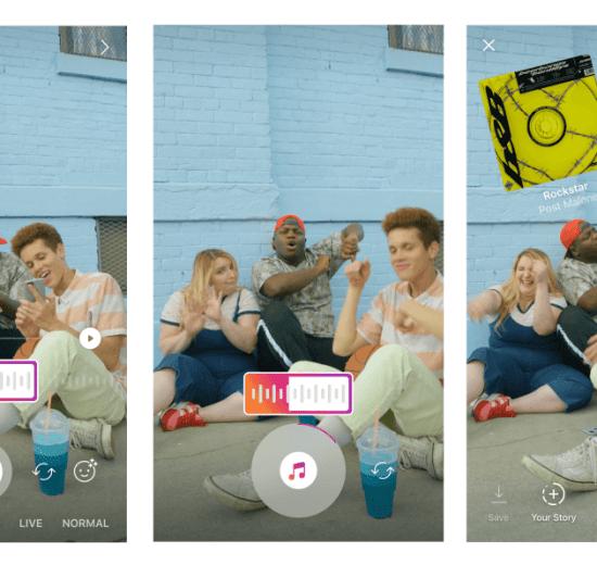 Music Format - Instagram Stories terá trilha sonora