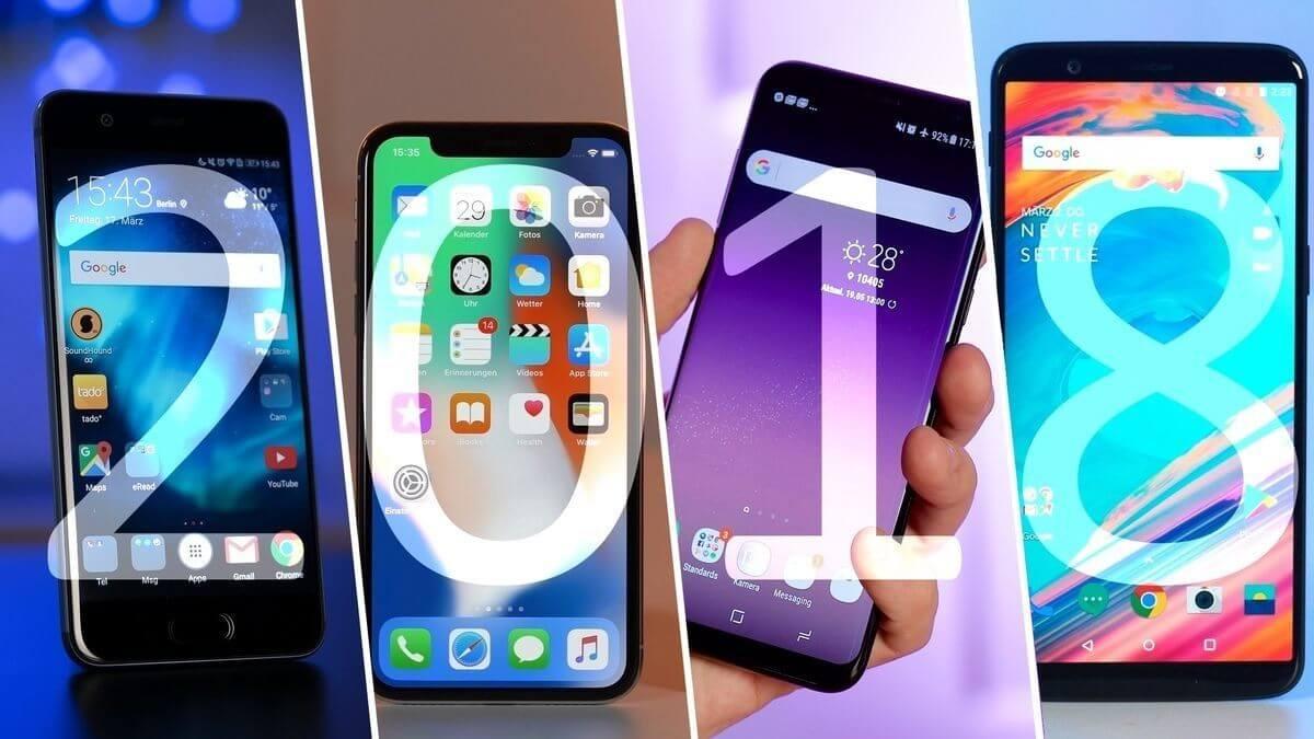 Melhores smartphones top de linha de 2018 4