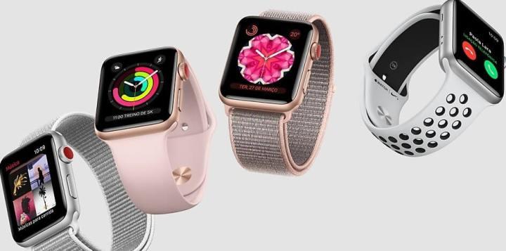 Apple Watch Series 3 começa a ser vendido hoje com função celular na Claro 10