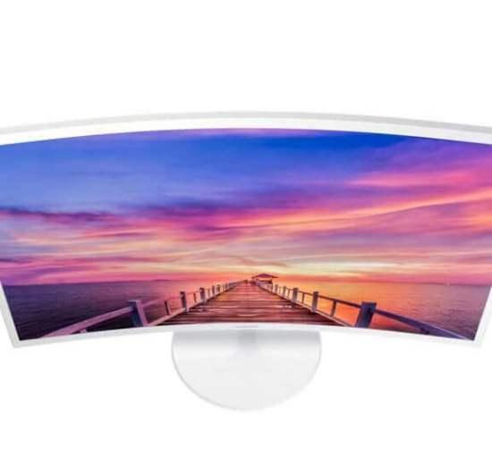 br curved c32f391 lc32f391fwlxzd dynamicwhite 68085524 - Review: monitor curvo Samsung C32F391 mescla imersão e elegância