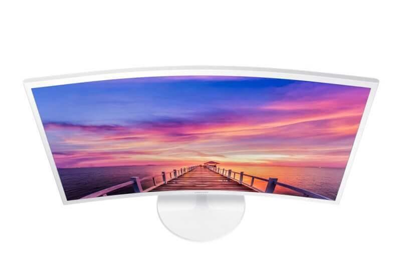 Review: monitor curvo Samsung C32F391 mescla imersão e elegância 3