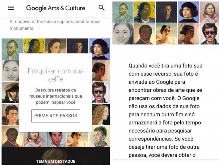 Função Art Selfie do Google Arts and Culture chega ao Brasil 5