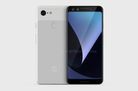 Google Pixel 3 e Pixel 3 XL aparecem em imagens renderizadas 5