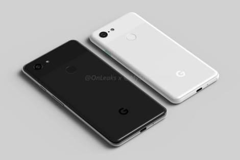 Google Pixel 3 e Pixel 3 XL aparecem em imagens renderizadas 10