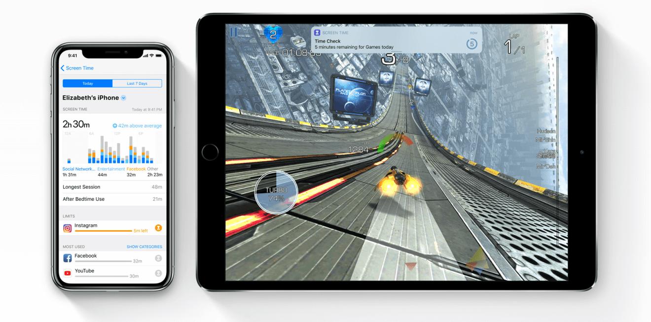 screen time - WWDC18: iOS 12 chega com Realidade Aumentada compartilhada e Notificações em Grupo
