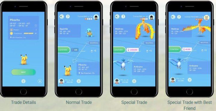 Pokémon Go finalmente ganha lista de amigos e sistema de troca 10