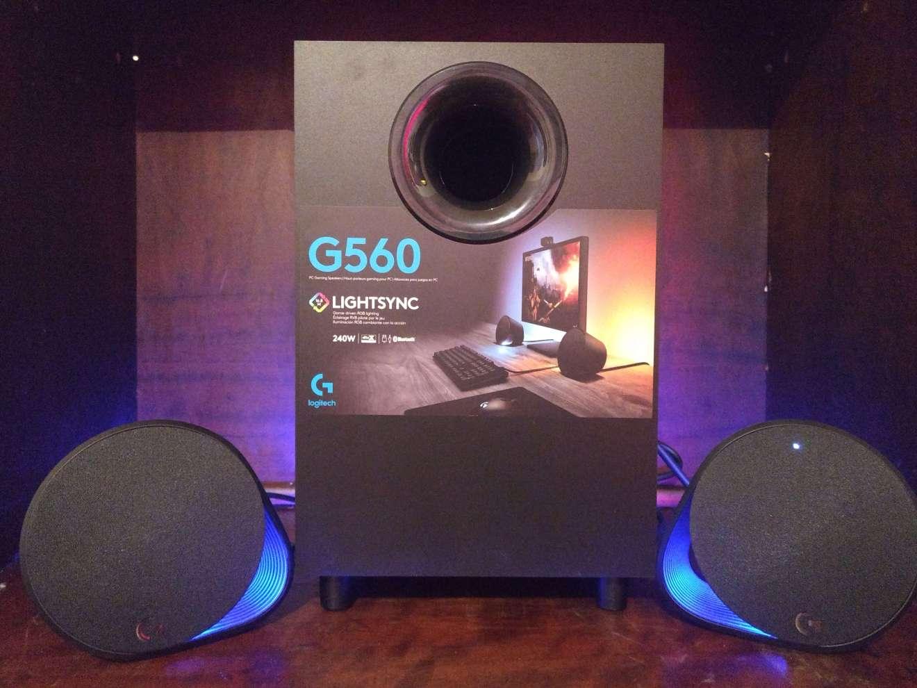 Review: Logitech G560 entrega iluminação e áudio imersivos para jogos 5