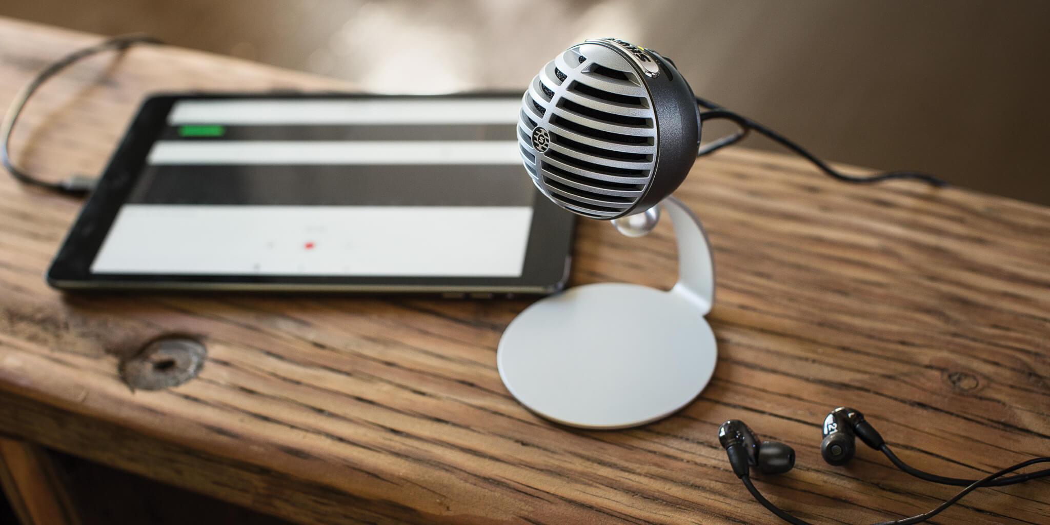 MV5 stilllife alt - Review: Shure MV5 é o microfone condensador digital amplamente versátil