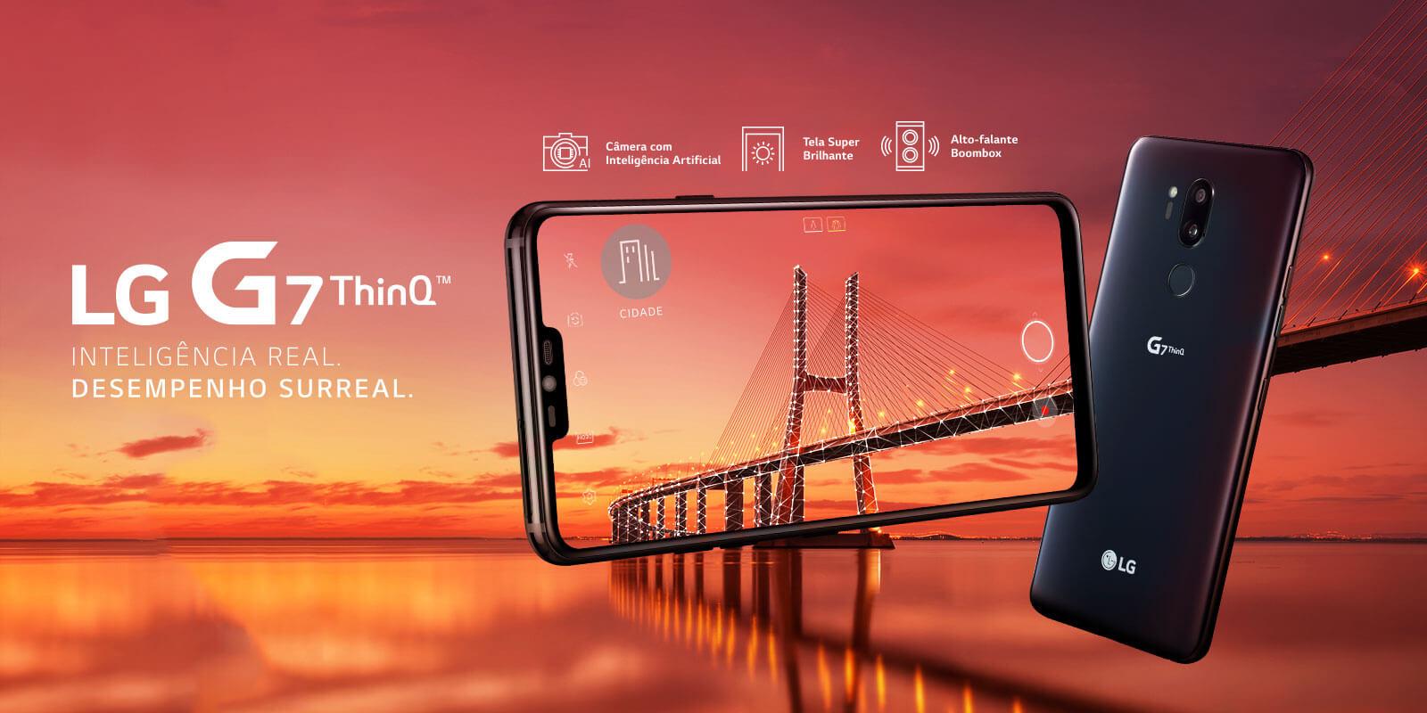 banner g7 thinq - Claro venderá o LG G7 ThinQ por R$ 1.196,00