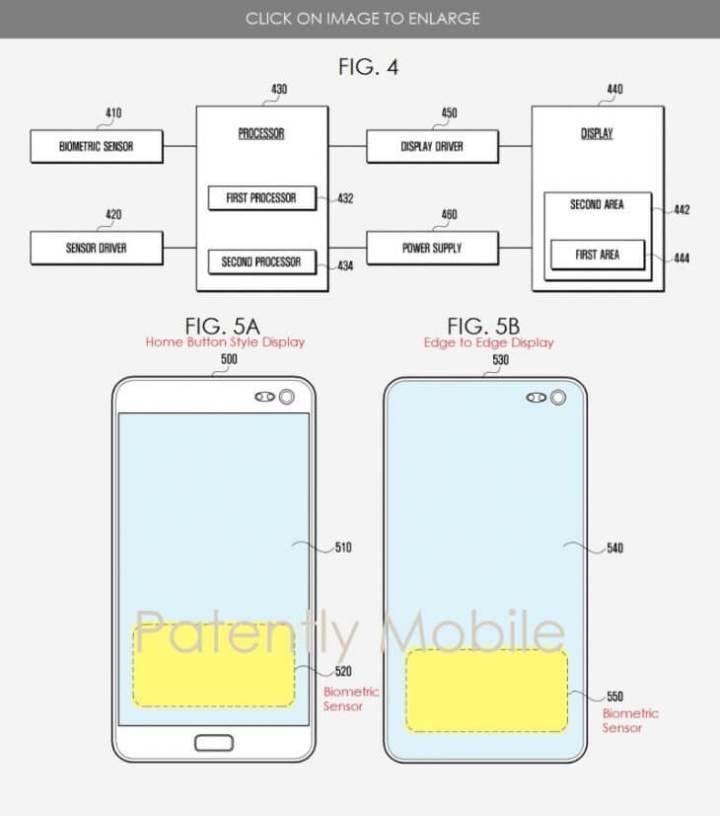 Samsung Galaxy S10: nova patente revela como será o sensor ultrassônico 5
