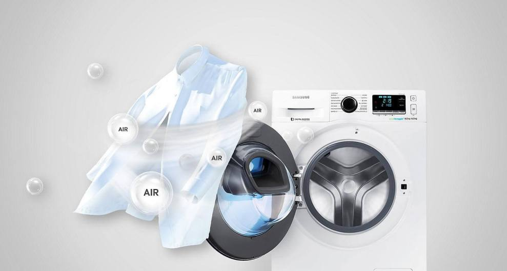 Como lavar as roupas a seco nas máquinas Add Wash da Samsung 4