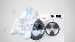 Como lavar as roupas a seco nas máquinas Add Wash da Samsung 11