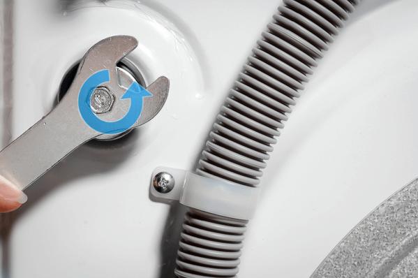 AddWash: retire o parafuso antes de ligar a máquina pela primeira vez 6
