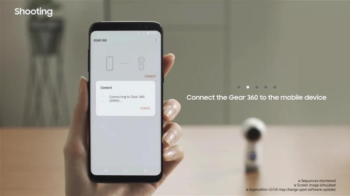 Wearables: Como gravar e editar vídeos com a Gear 360 6
