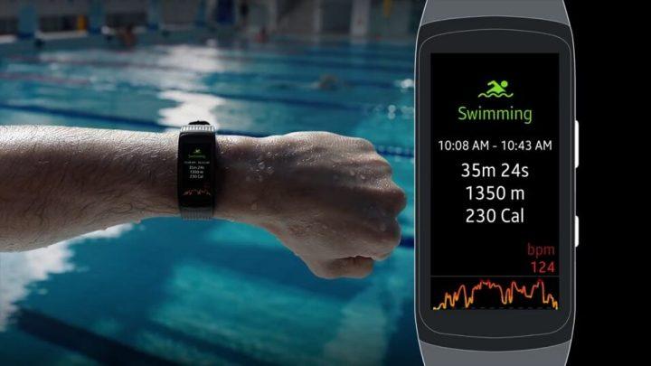 Wearables: Como gravar treinos de natação com o Gear Fit 2 Pro 13