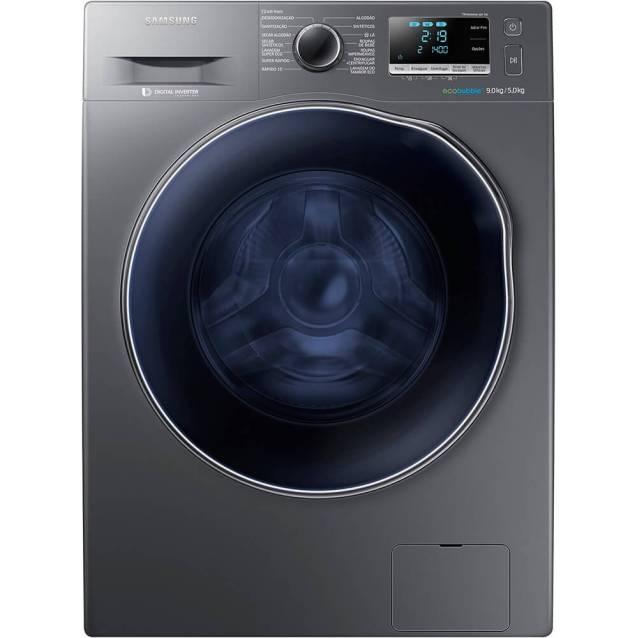 lavadora e secadora samsung wd6000 9kg inox 220v wd90j6410ax D NQ NP 427221 MLB20749225259 062016 F - Confira as melhores lavadoras para comprar em 2018