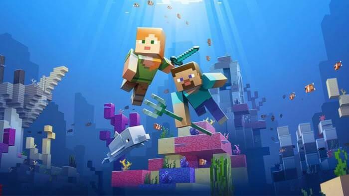 minecraft - Minecraft: segunda fase do Update Aquatic é lançada