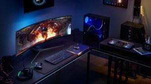 Conheça o imponente monitor gamer da Samsung de 49 polegadas 9