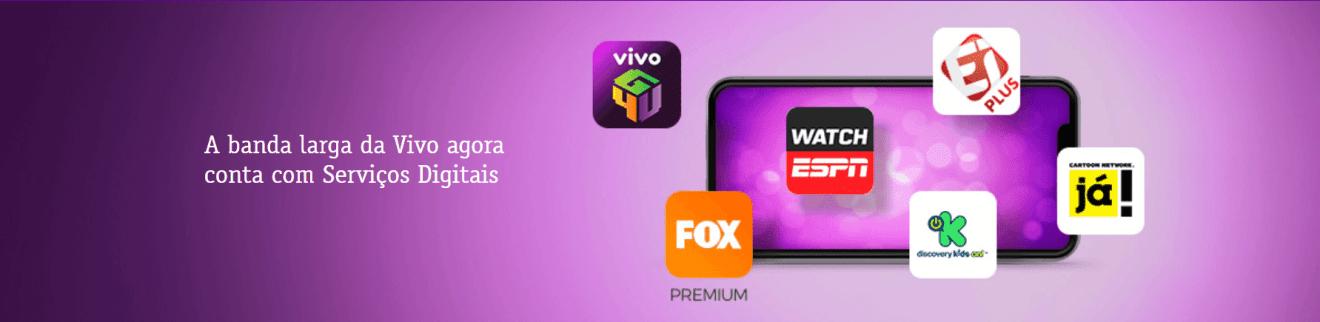Vivo Fibra agora permite acesso a serviços digitais de entretenimento 7
