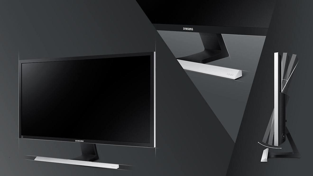 se feature uhd ue590 53770411 - Review: monitor Samsung UHD 4K UE590 entrega imersão mesmo sem tela curva