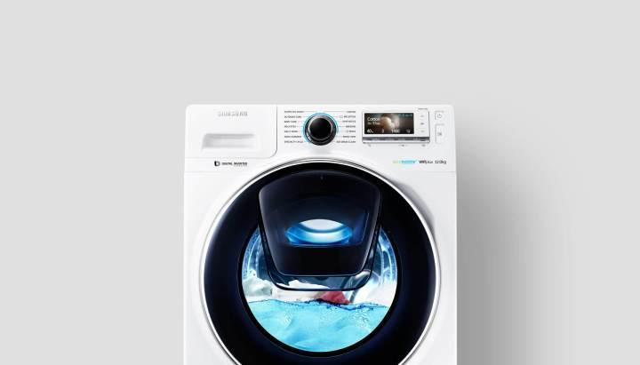 Como lavar as roupas a seco nas máquinas Add Wash da Samsung 8