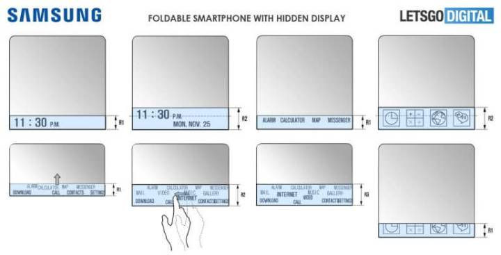 Patente mostra como será o Galaxy X, smartphone dobrável da Samsung 5