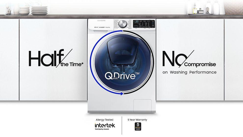 Samsung anuncia o lançamento da lava e seca QDrive no Brasil 4