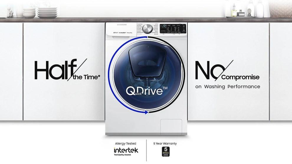 Lava e Seca QDrive: Samsung anuncia o lançamento do eletrodoméstico no Brasil 5