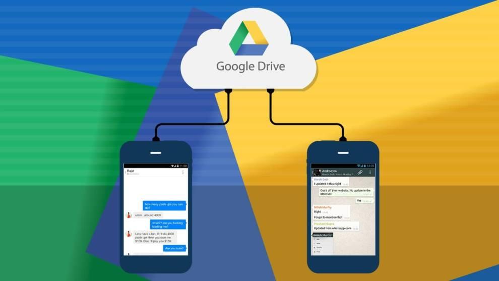 1facebooks whatsapp messenger now allows to back up chat on google drive - Backup do WhatsApp será ilimitado e não tomará mais espaço no Google Drive