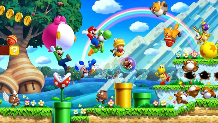 New Super Mario Bros. U + New Super Luigi U seriam uma adição importante para títulos 2D no Nintendo Switch.