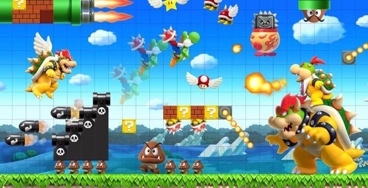 Seja você também um criador de fases com Super Mario Maker, que pode aparecer em breve no Nintendo Switch.