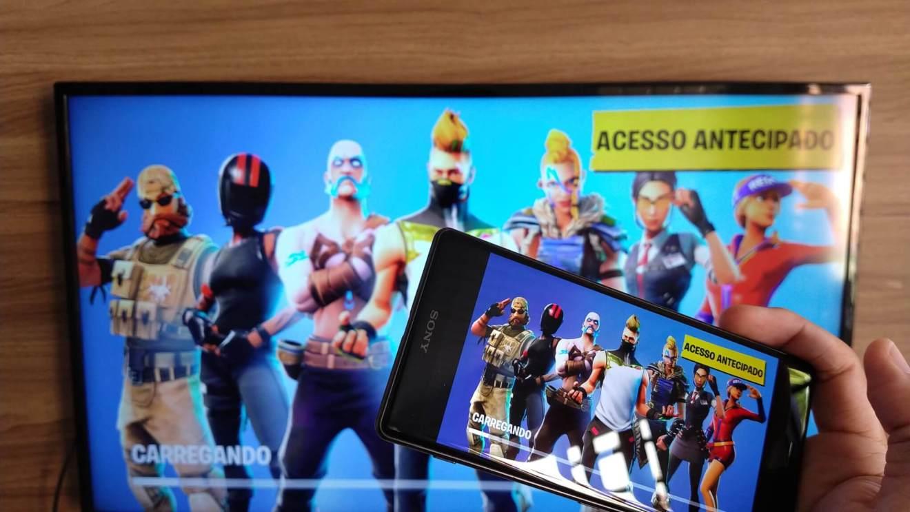A FORTNITE e1533155640449 - REVIEW: Sony Xperia XZ2 e XZ2 Compact, mais que rostinhos bonitos