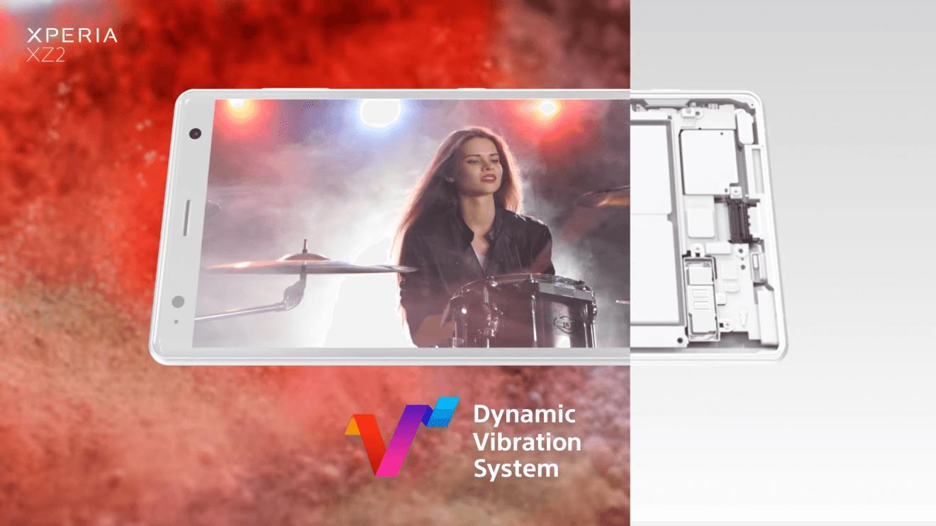 Xperia XZ2 - Vibração Dinâmica