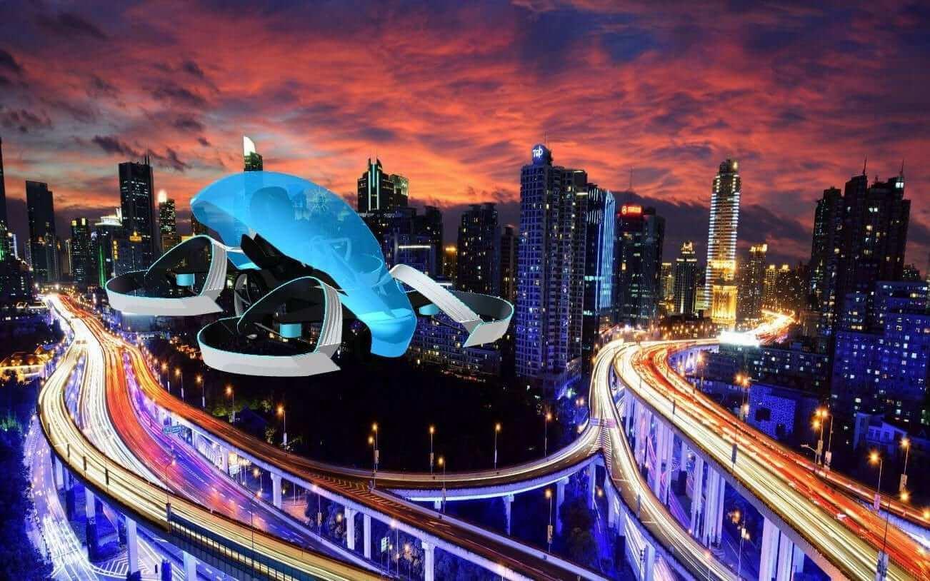 Carro Voador - Japão começa a investir pesado em carros voadores
