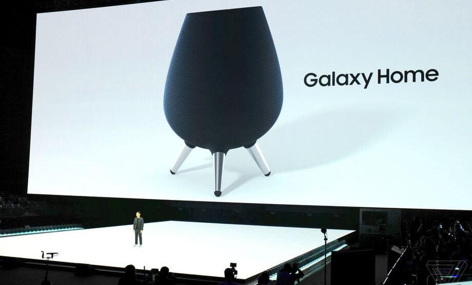 Samsung lança Galaxy Home, caixa de som com assistente virtual Bixby 4