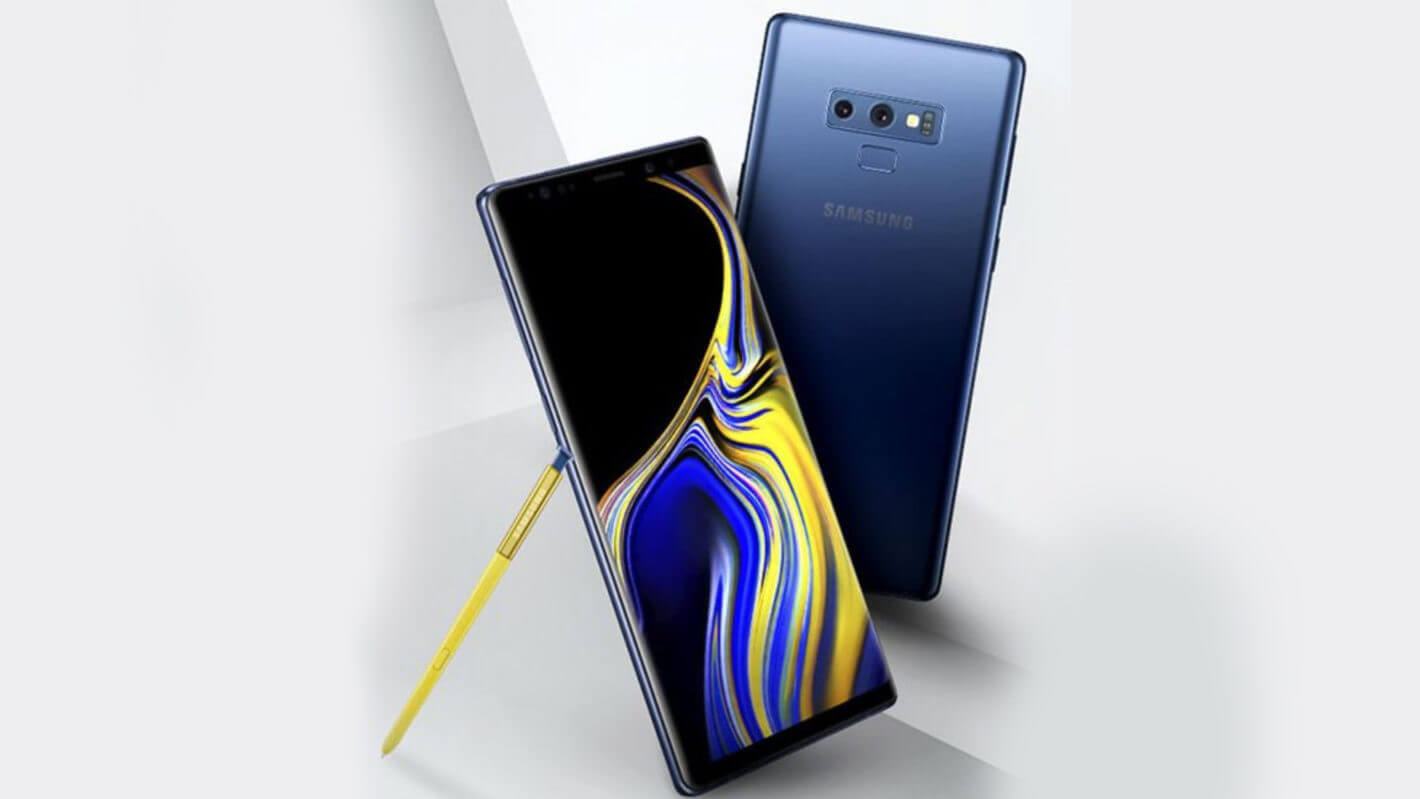 Samsung Galaxy Note 9 Blue Yellow Gold Evan Blass July 17 2018 1420x799 - Galaxy Note 9 chega ao Brasil