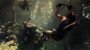 Shadow of the Tomb Raider rope slide - Confira 25 jogos que estão chegando para o Xbox One ainda esse ano