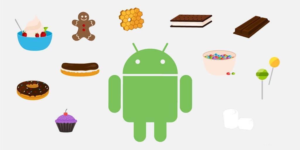 android versions 1 - Android Pie, One e Go: as diferenças entre as várias versões do Android