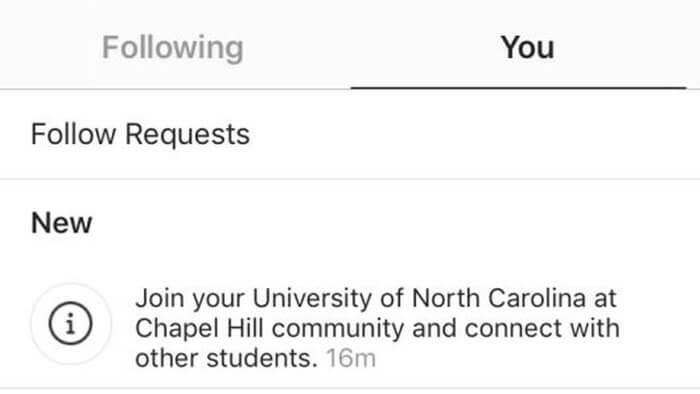 instagram 24201941223133 - Novo recurso do Instagram une alunos da mesma universidade em comunidades