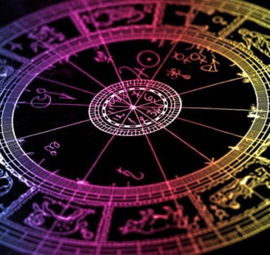 Imagem de círculo com signos do zodíaco