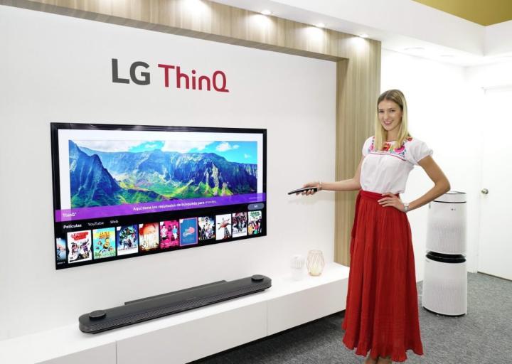 LG OLED da linha LG ThinQ